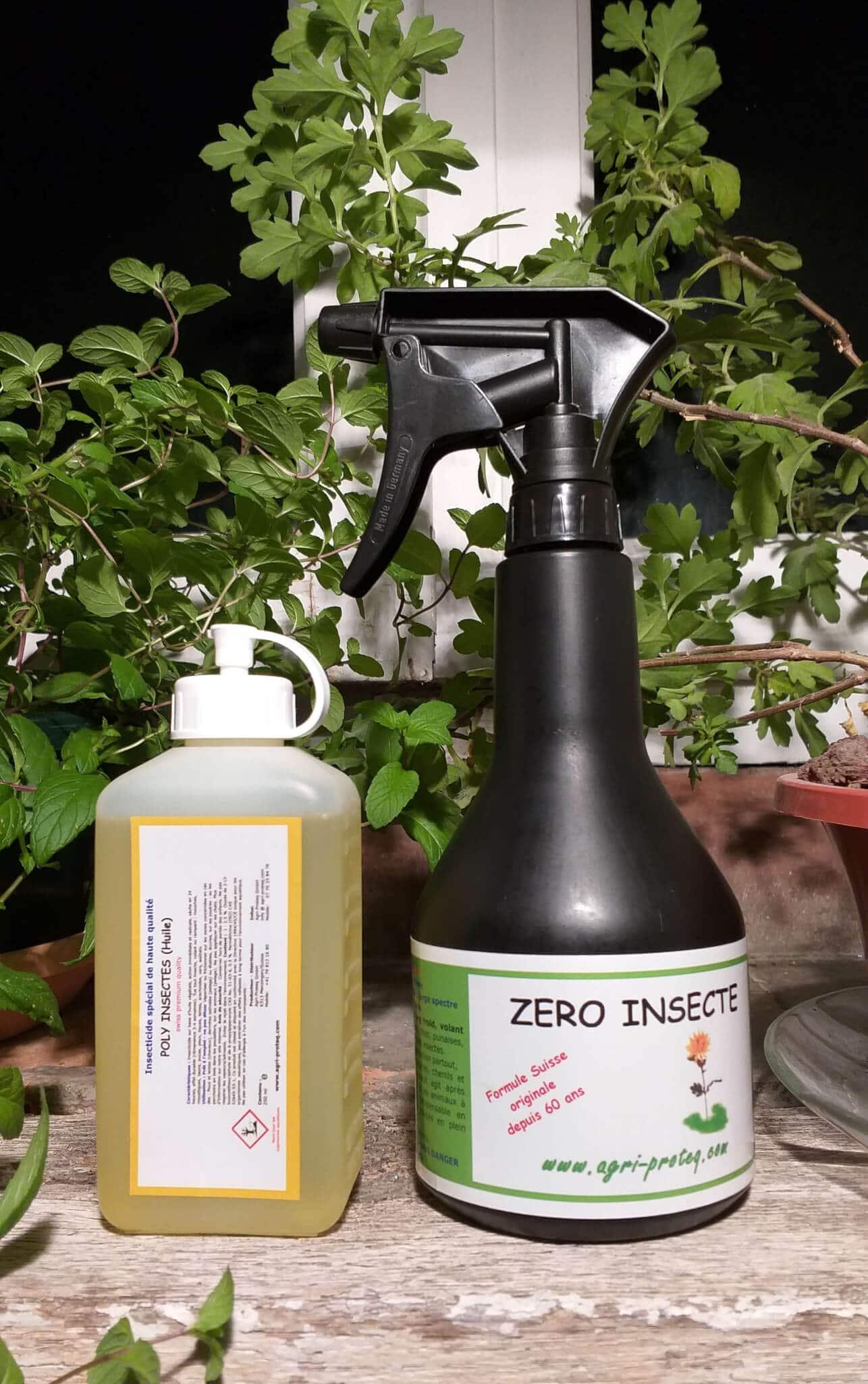 Zéro Insecte 500ml et Poly Insectes 250ml