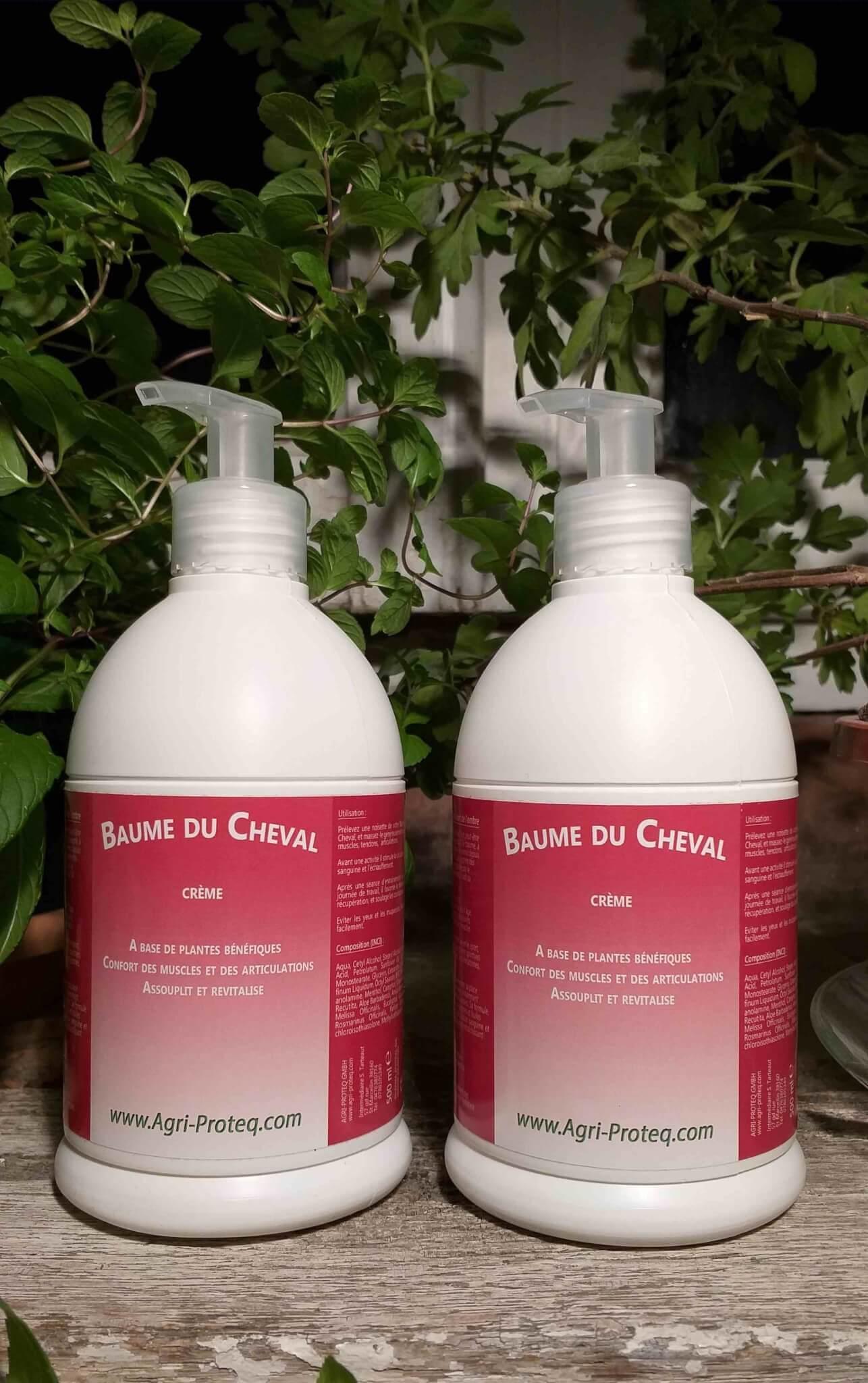 Baume du Cheval - Crème - 500ml (Pack de deux)
